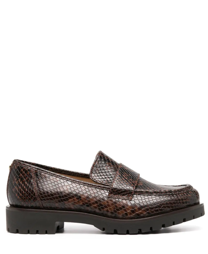 MICHAEL KORS HOLLAND LOAFER CROCO
