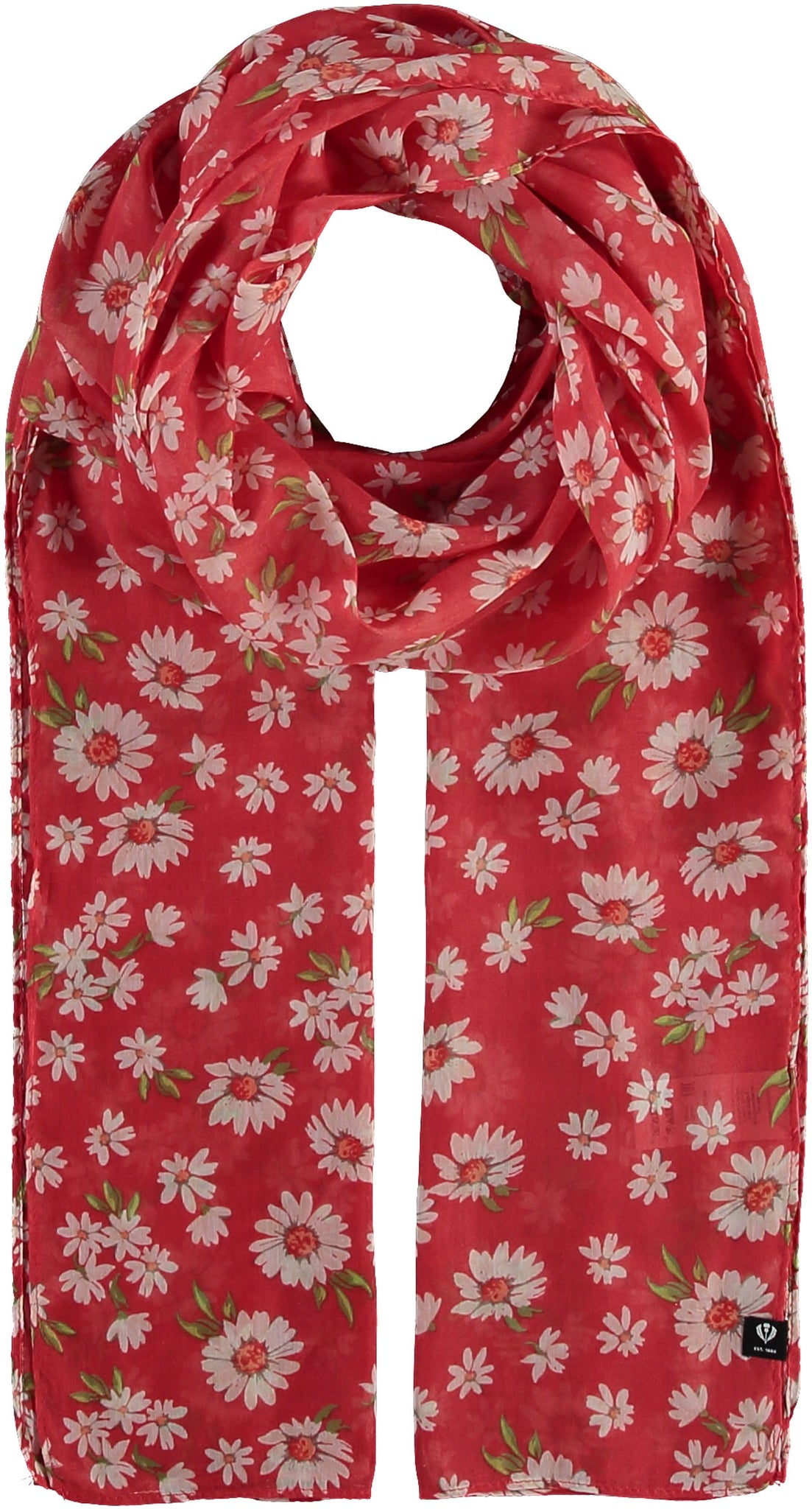 FRAAS Daisy Field Polyester Printed Scarf