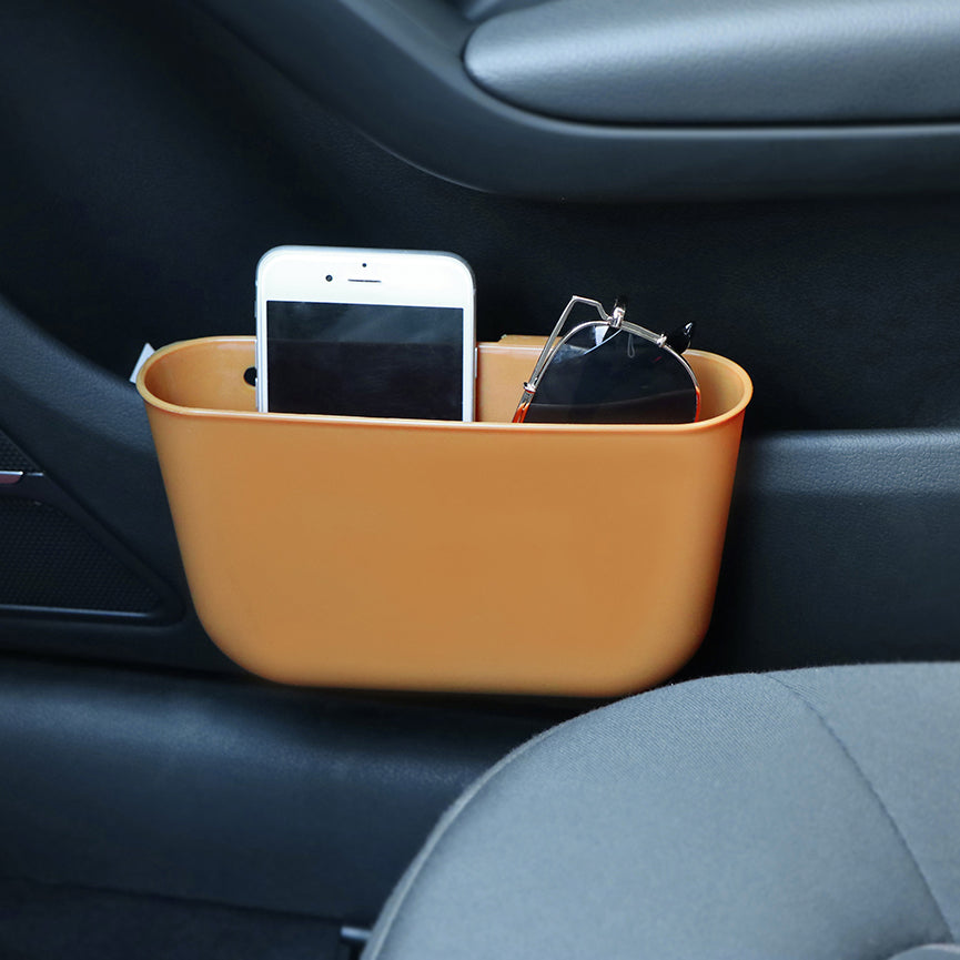 Set (2 or 4) of Car Seat Pocket Holder For Phone, Coins, Key