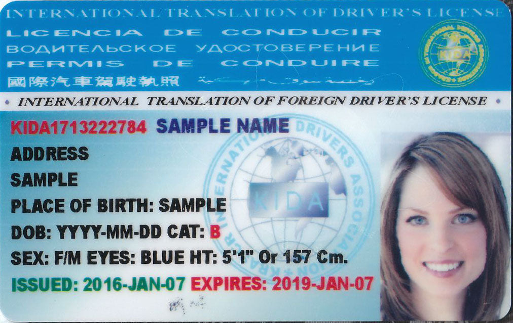 International Driver's License - Driving Around The World