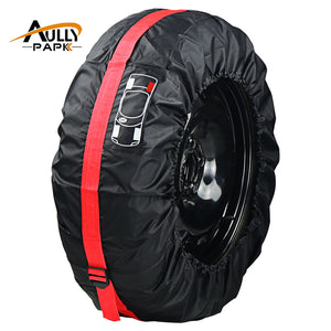 Spare tyre cover and protector
