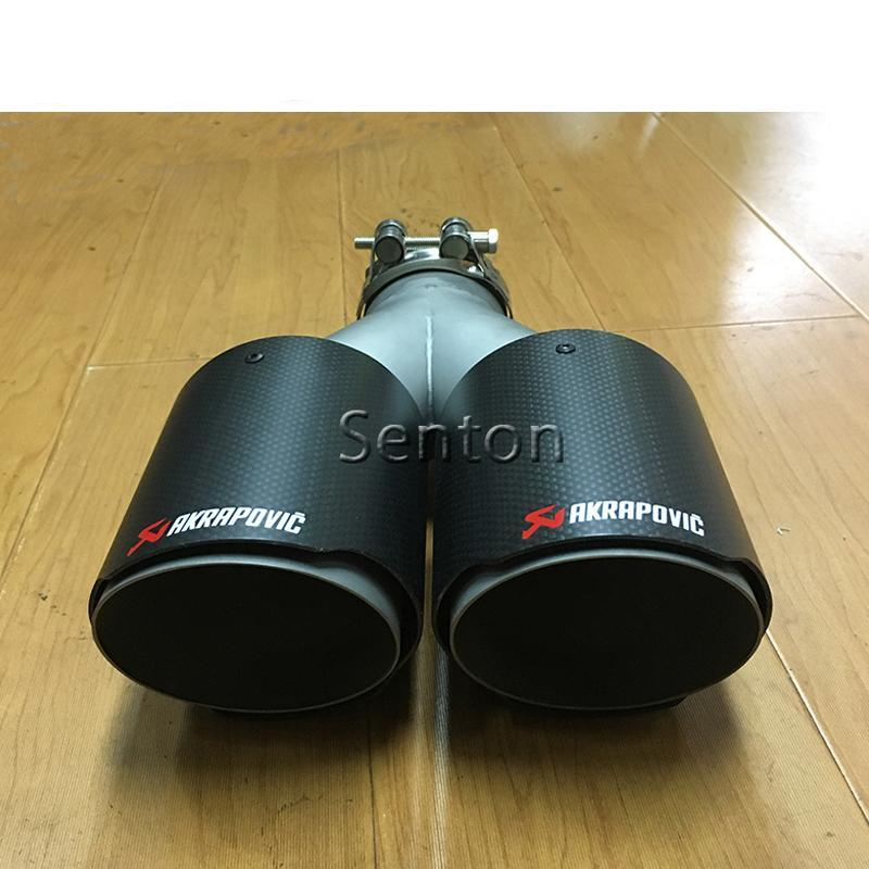Luxury Twin Outlet Carbon Fiber Exhaust