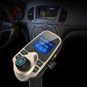 Bluetooth FM Transmitter Audio - MP3 Player