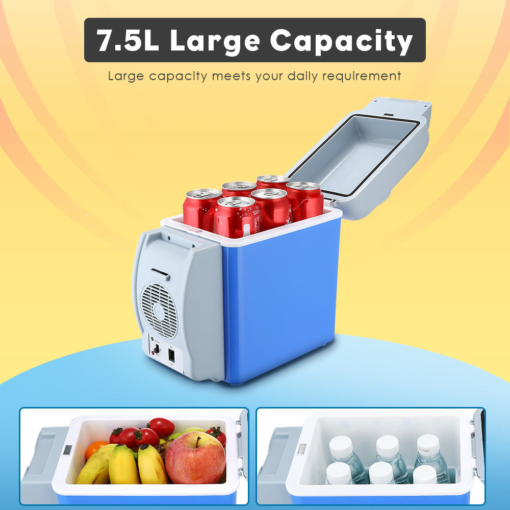 Cooling and Heating Portable Refrigerator 7.5L