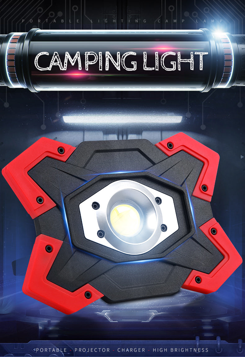 High Power LED Off-road & Camping Flashlight