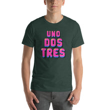 Uno, Dos, Tres short-sleeve Unisex T-Shirt - Elektro Kids Media