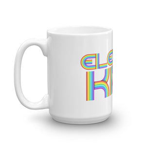 Elektro Kids Rainbow Logo Mug - Elektro Kids Media