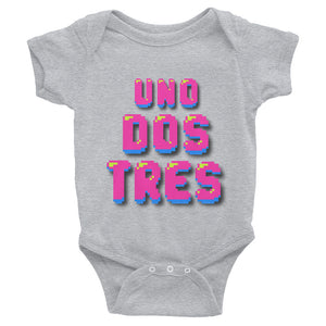 Uno, Dos, Tres, Infant Bodysuit - Elektro Kids Media