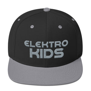 Elektro Kids (Solid Gray) Embroidered Snapback Hat