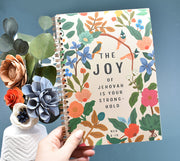 Joy of Jehovah is Your Stronghold Lined Notebook