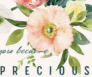 Precious In My Eyes : Vintage Botanicals : Printable Download