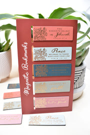 New 5 Pack of Magnetic Bookmarks : Includes 2021 Year Text & Convention Theme