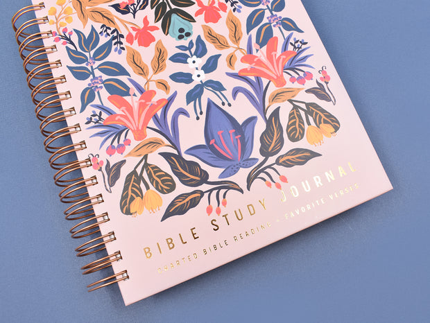 Bible Study Journal : Complete Bible Reading Chart : Cataloged Notes and Thoughts