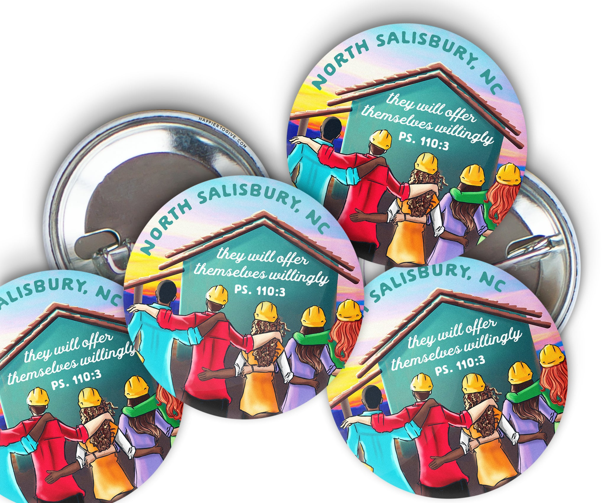 LDC Pins : Customize : Button : Badge : Disaster Relief
