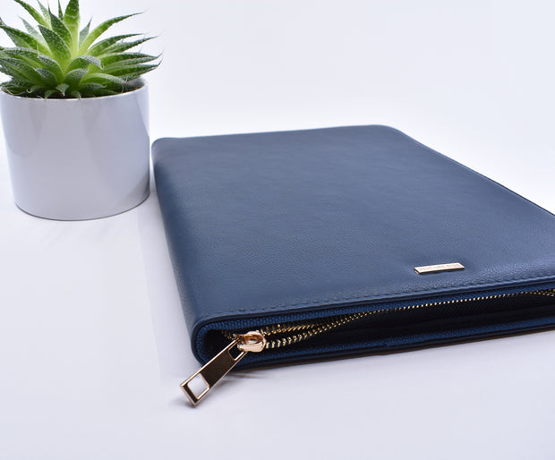 Letter Writing & Telephone Ministry Organizer : New Navy Blue Super Soft Ministry Organizer