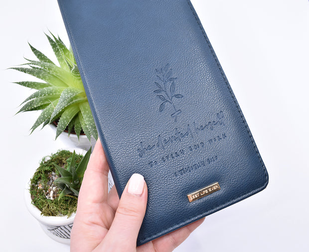 JW Tract Holder : Super Soft Navy Blue : 15% off