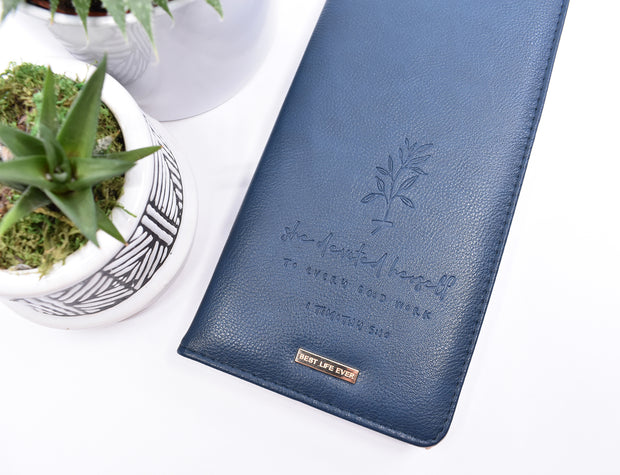 New Tract Holder : Super Soft Navy Blue