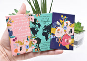 3 Pack Magnet Gift Set : Individually Wrapped : Love for God's Name, Kingdom Map, Best Life Ever