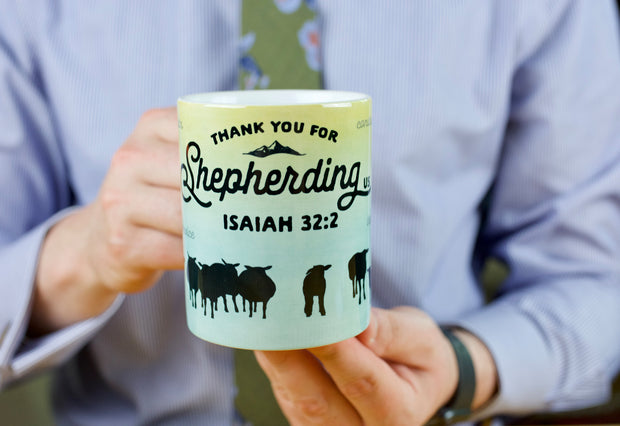 Shepherding Us Sheep - Coffee Mug