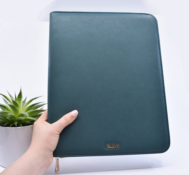 Letter Writing & Telephone Ministry Organizer : New Emerald Green Super Soft Ministry Organizer