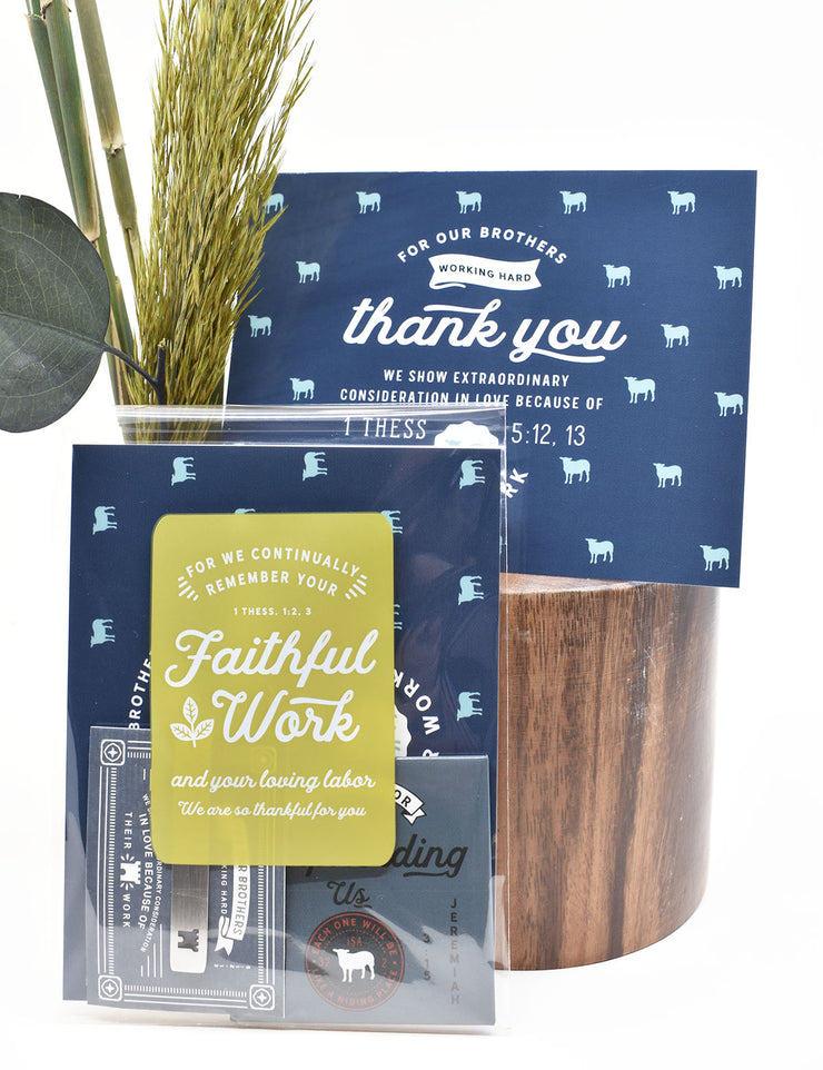 100 Pack Clear Bags for Gifting : Continually thankful for your faithful work:)