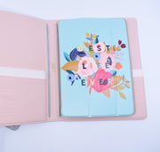 Soft Grey Magazine Organizer : Lightweight