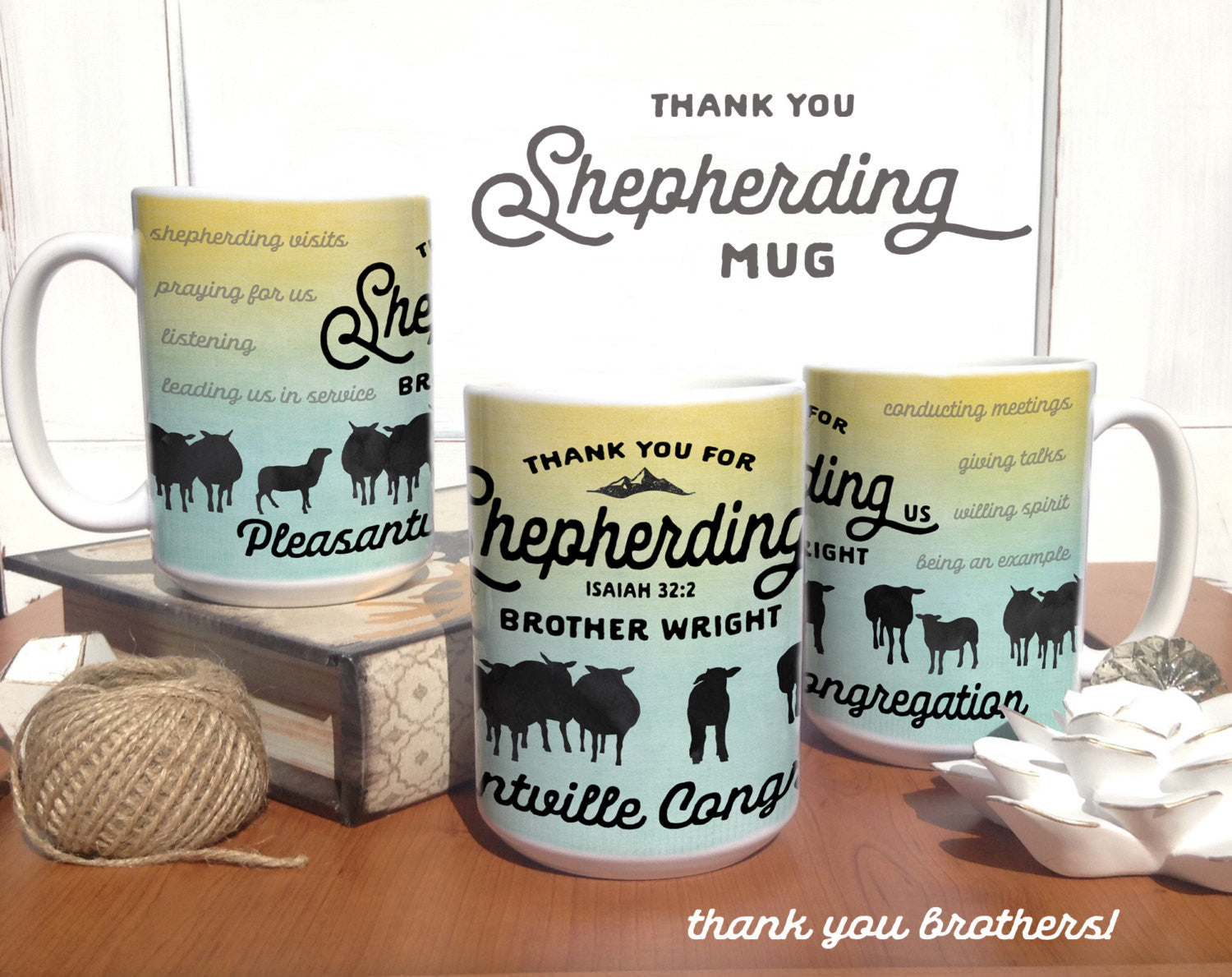 Shepherding Us Sheep-Coffee Mug
