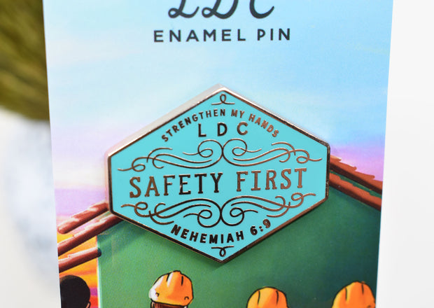 LDC Enamel Pin : Strengthen My Hands - Safety First : 70% off