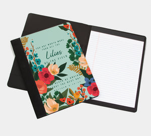 You Are Worth More Than All Of The Lilies Of the Field : Greeting Card