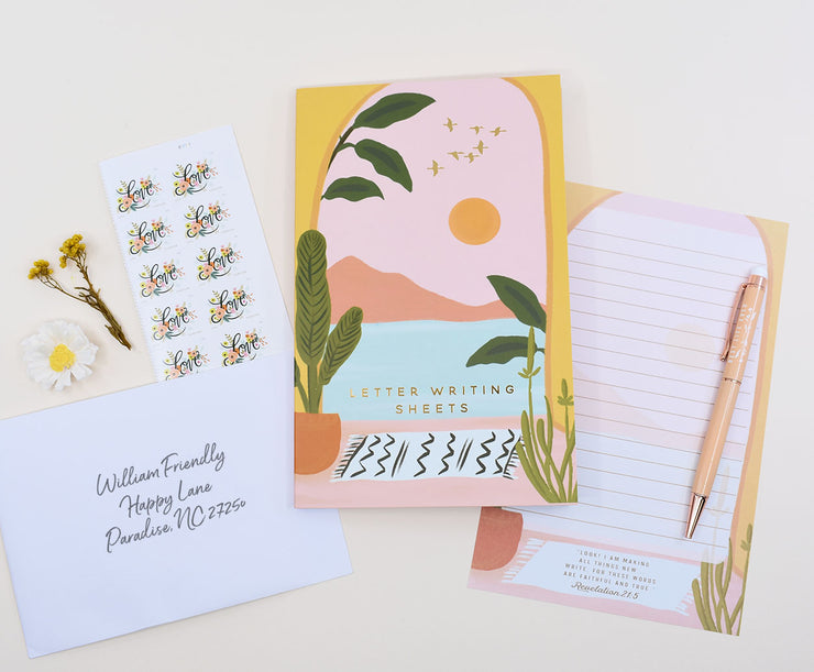 Letter Writing Sheets : Memo Pad Booklet