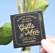 3 Pack Magnet Gift Set for Brothers : Individually Wrapped