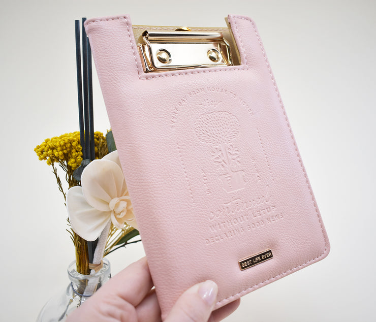 Mini Clipboard : Pink : Not At Home Record Keeper / Return Slip Holder