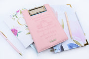 Mini Clipboard : Not At Home Record Keeper : Light Pink : 20% off