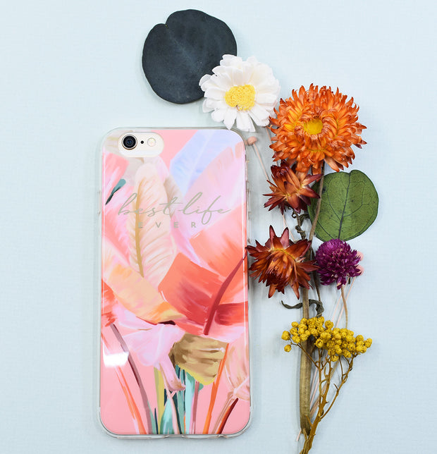 iPhone Case : Best Life Ever Palms : 20% off