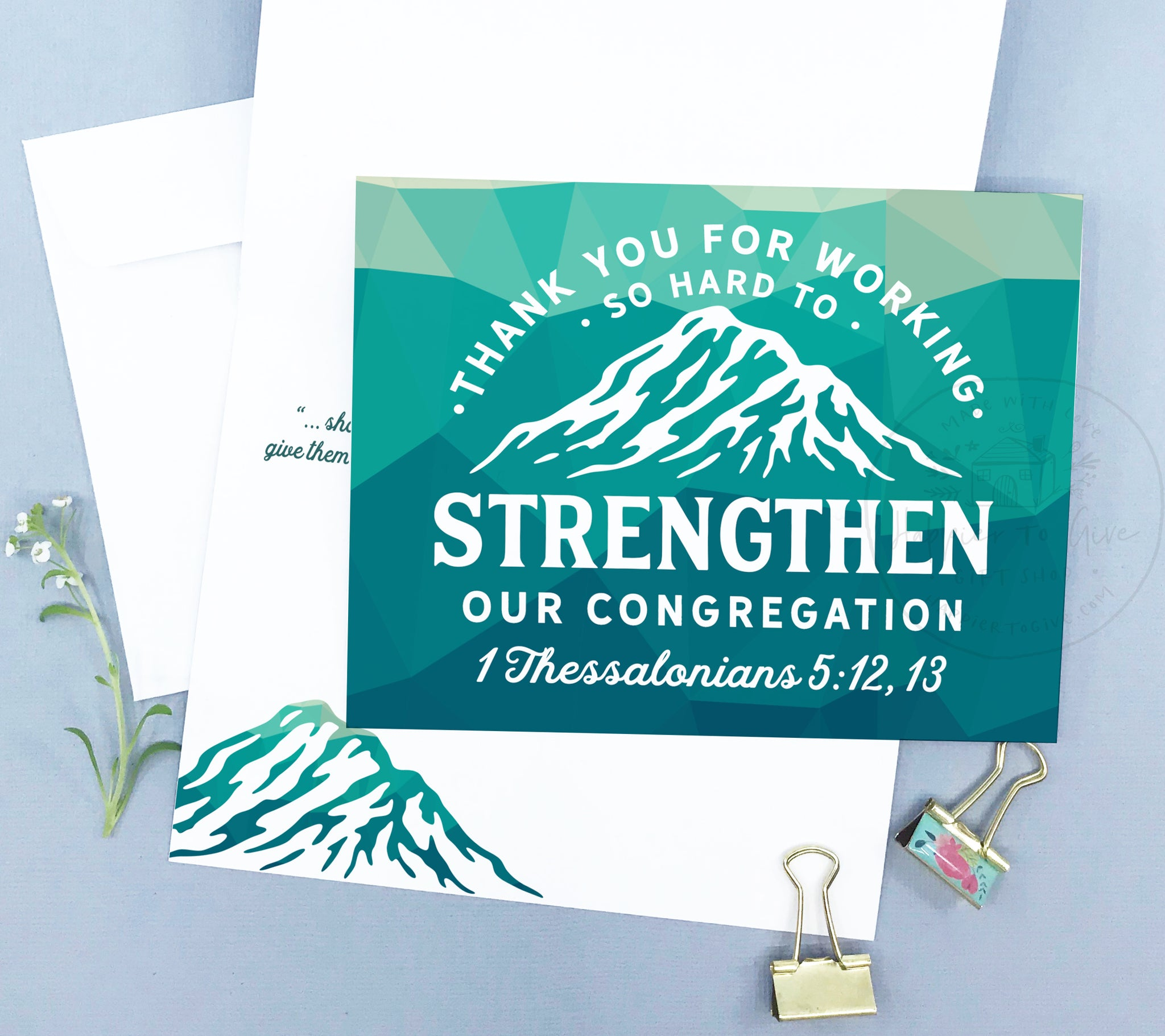 Strengthening Our Congregation Card