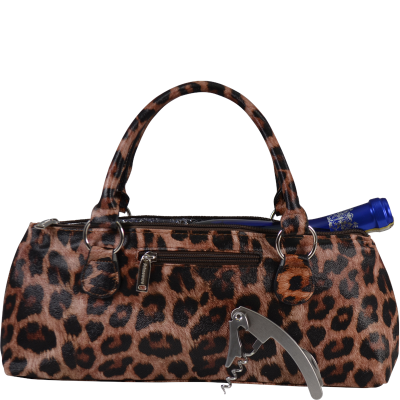Insulated Wine Clutch - Jaguar