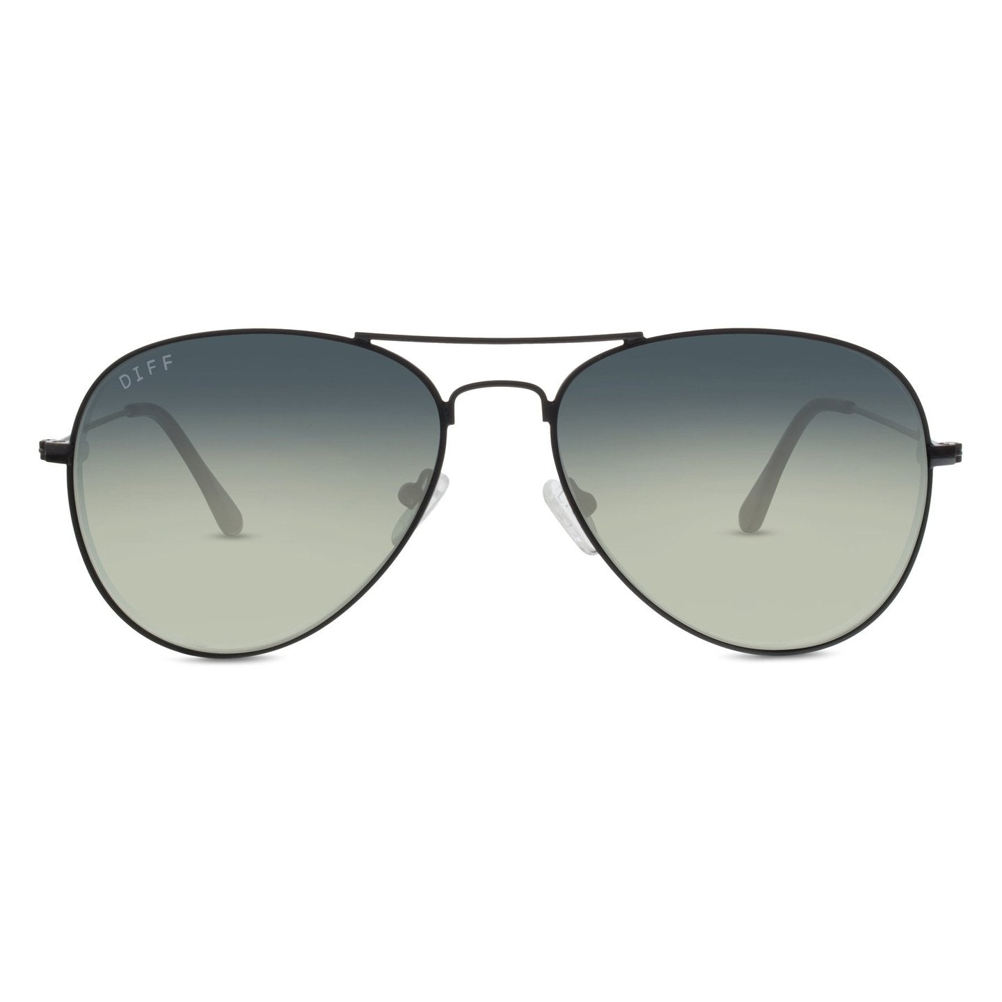 CRUZ - Aviator black + grey gradient lens