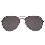 CRUZ  Aviator - black + dark smoke lens