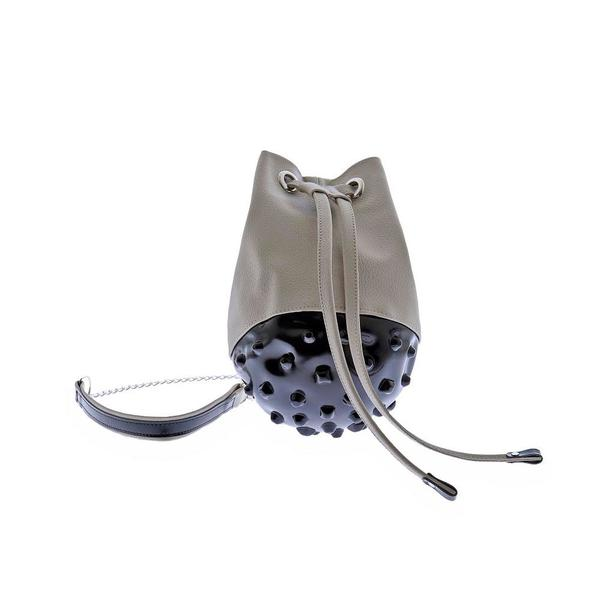 Paris Bucket Bag Black & Beige