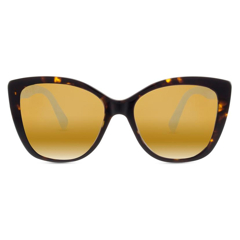 christina el moussa RUBY + TORTOISE GOLD FLASH POLARIZED LENS