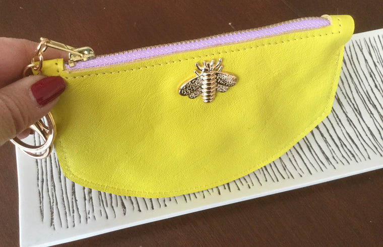 Bee Wallet - Yellow