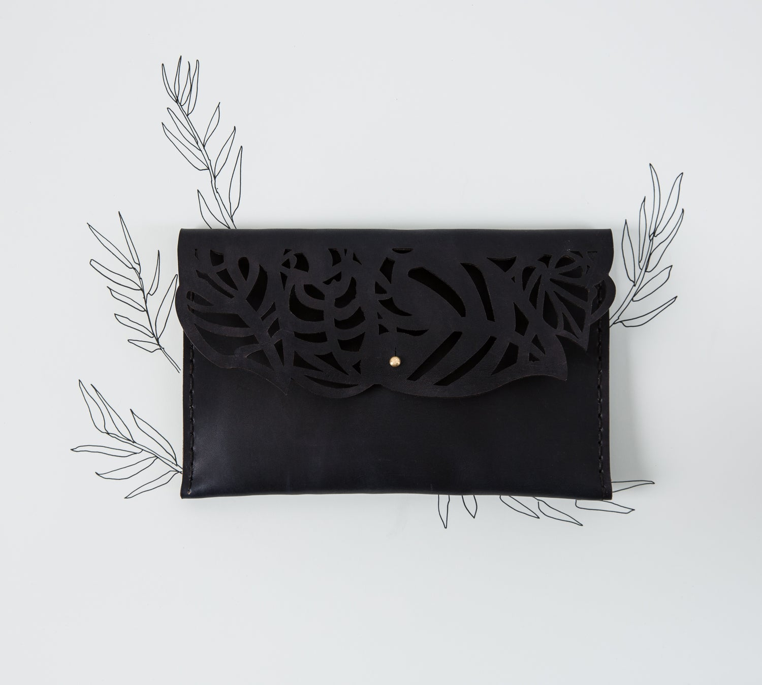 Wilderness Clutch Black