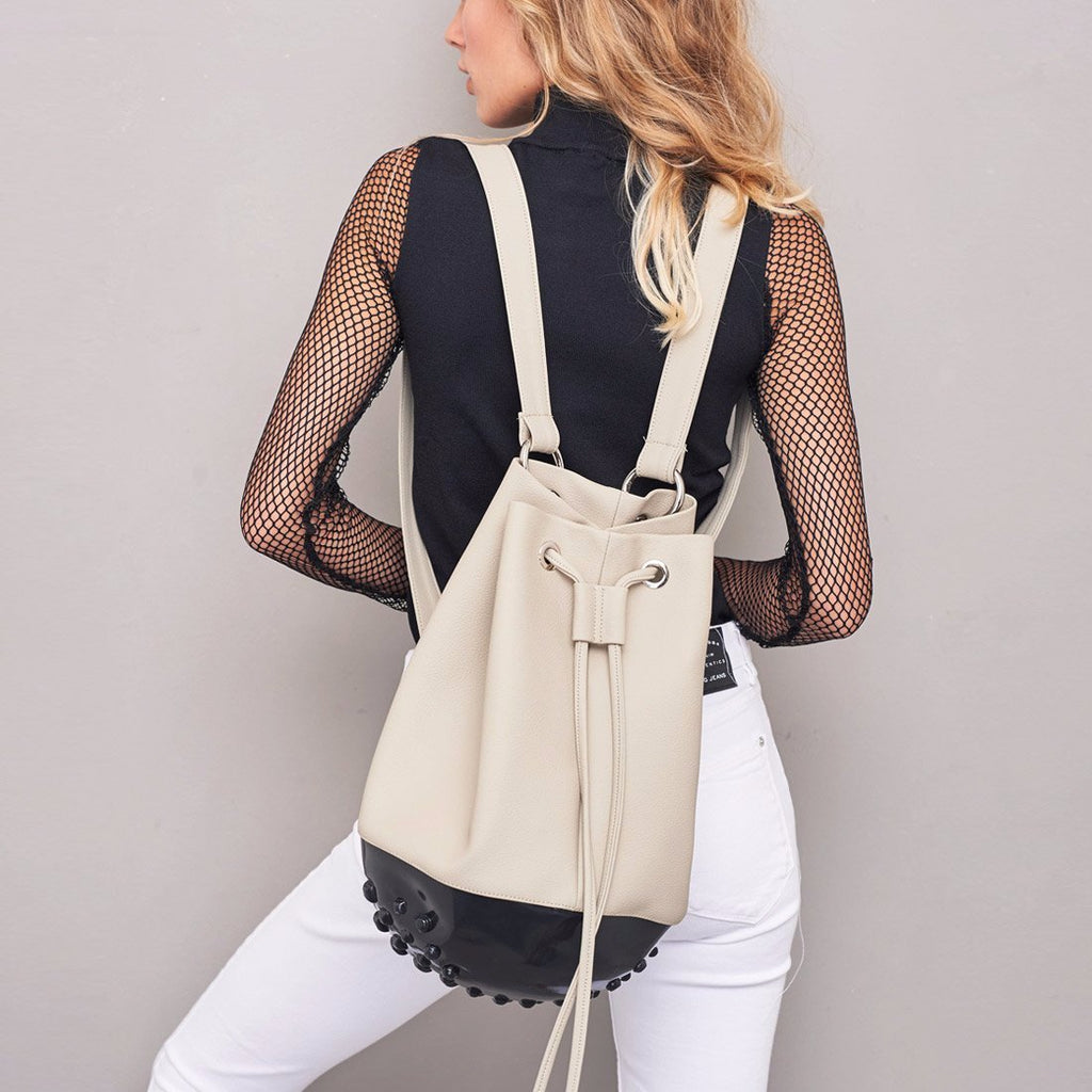 Rio Backpack Black & Beige