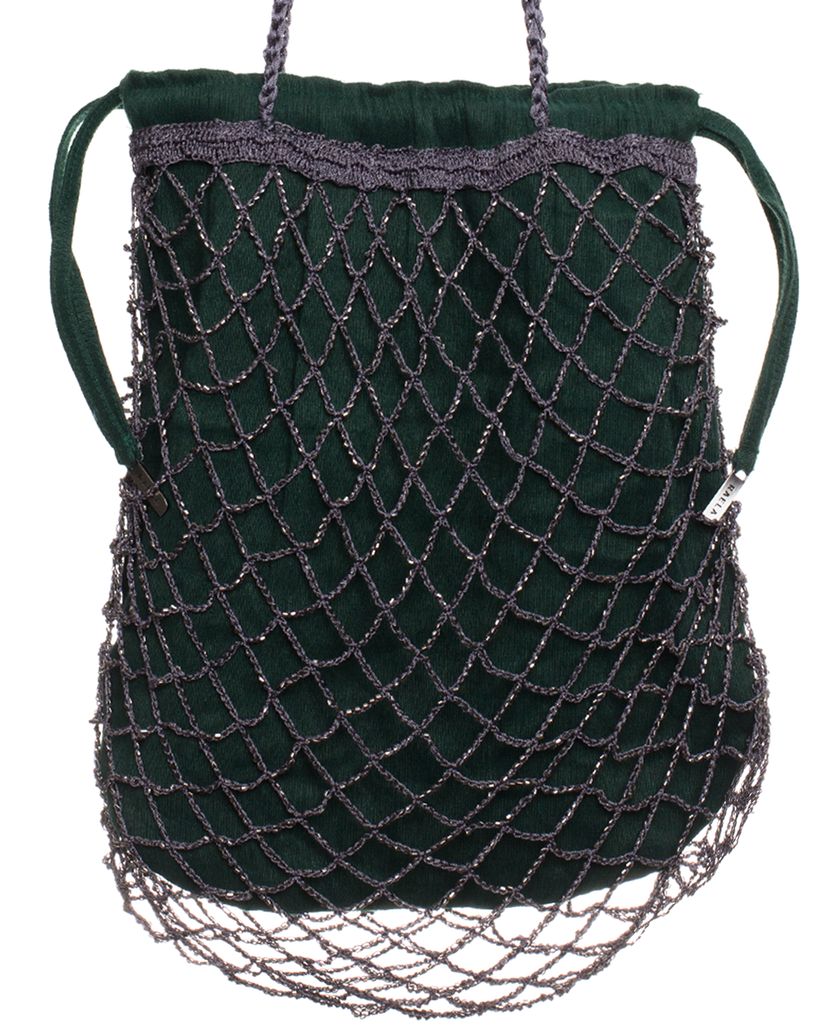 The New Ritual Tote Bag- Emerald/Mercury