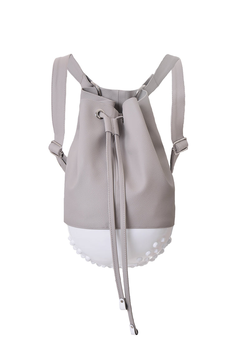 Rio Backpack White & Beige