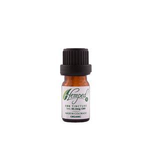 CBD Original flavor 15ml Tincture by HempedRX sample size
