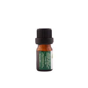 CBD Original flavor 15ml  Tincture by HempedRX sample size side view
