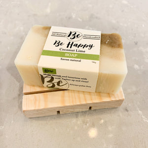 Natural Soap Deck with Soap Bar
