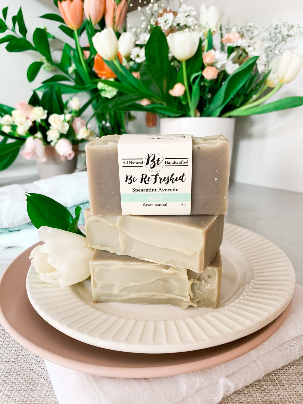 Be Refreshed - Spearmint & Avocado Soap Bar