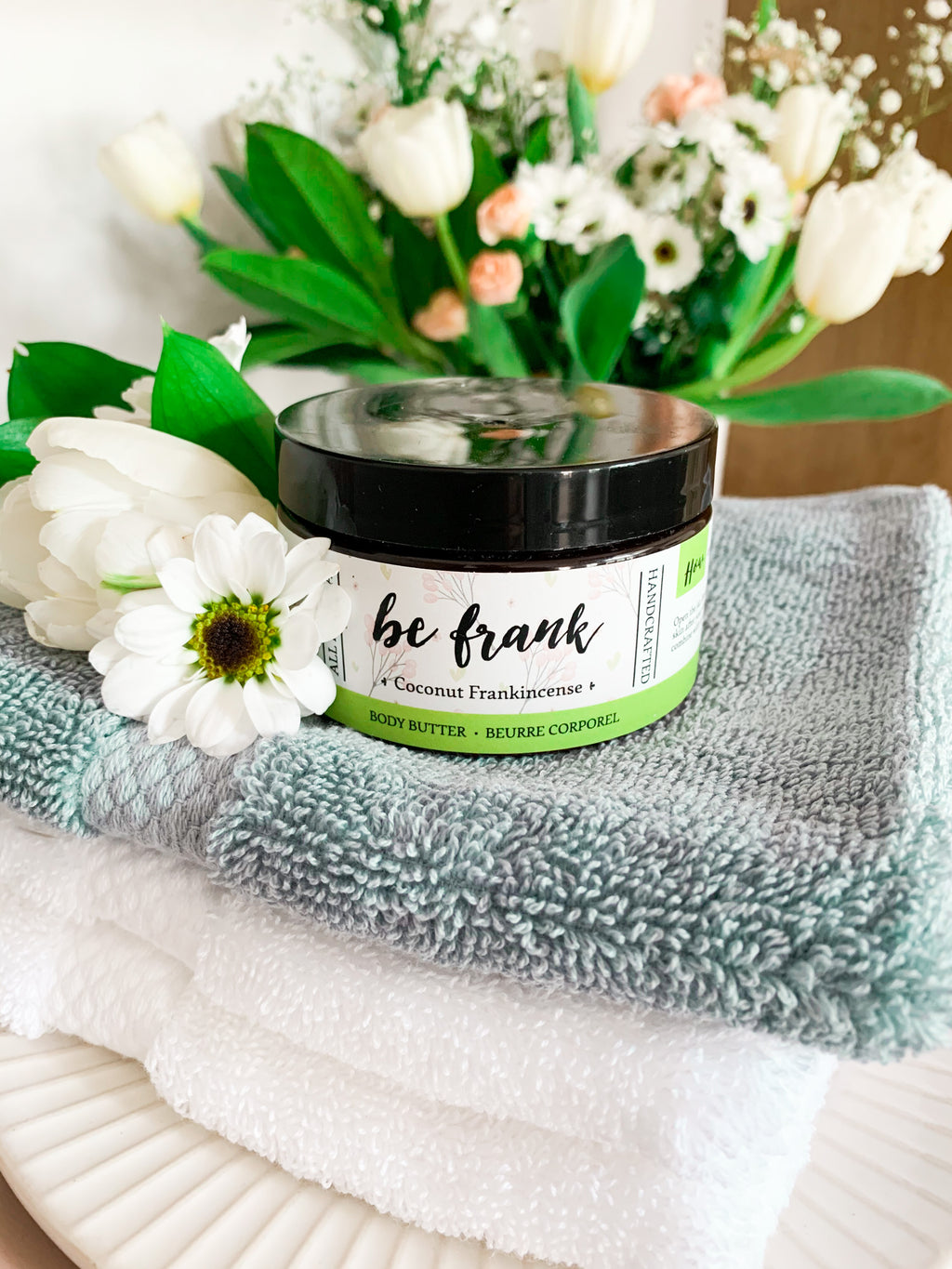 Be Frank - Frankincense, Cedarwood & Lavender Coconut Body Butter